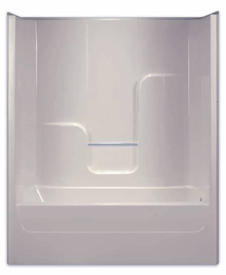 Aquarius Bathware G6004TSR Endurance Rh White Fiberglass