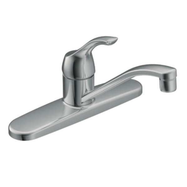 Moen Ca87526 Touch Control Chrome One Handle Kitchen Faucet At Sutherlands