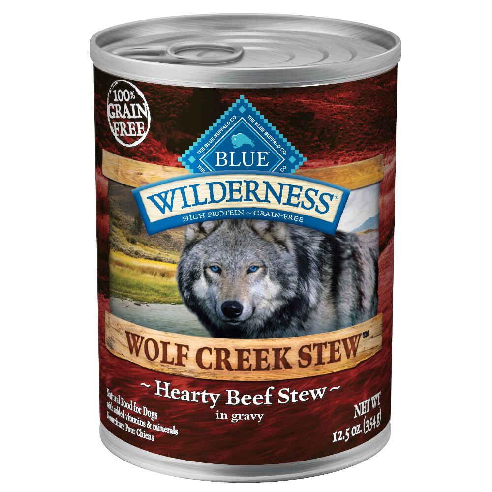 Blue Buffalo BLU0064 12-1/2-Oz. Wilderness Wolf Creek All