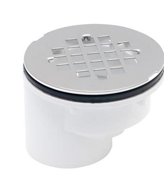 Oatey 42788 2 Inch Abs Offset Shower Drain With Receptor Base At