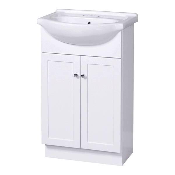 Foremost COWA2135 White Plywood Columbia Euro Bathroom ...