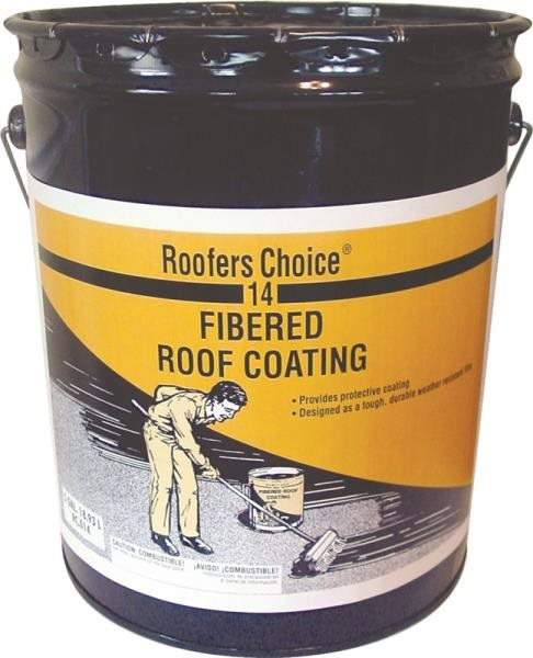 Henry Rc014070 Roofers Choice Fibered Roof Coating 4 75
