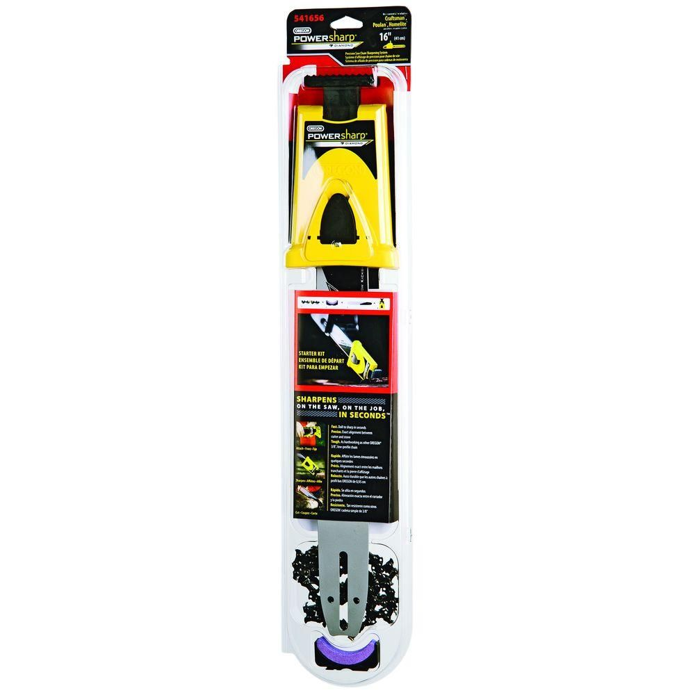 "16/"" Oregon PowerSharp Chainsaw Sharpening Starter Kit For McCulloch Chainsaws"