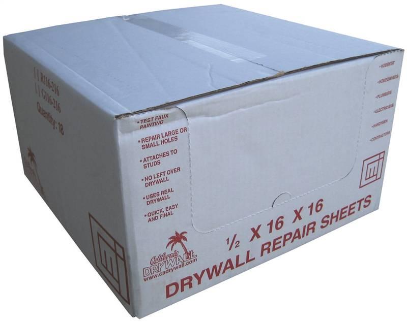 California Drywall DW001-DW016C1