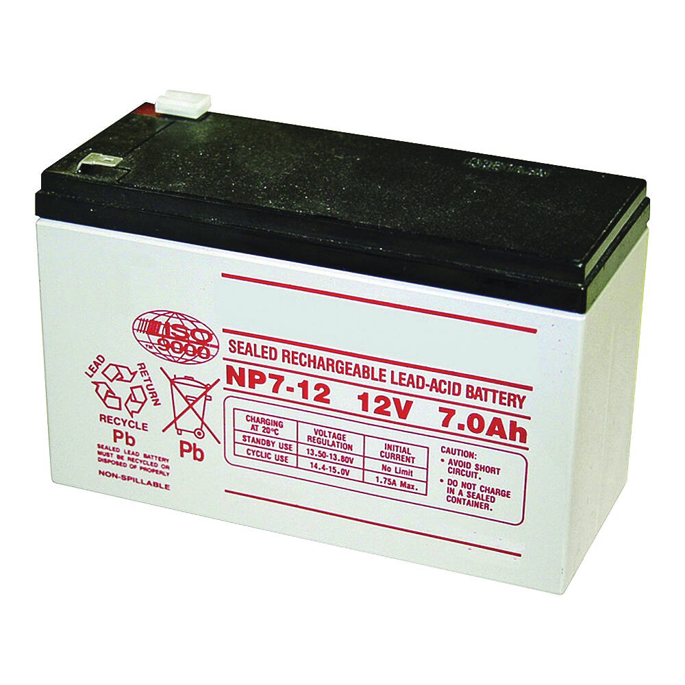 Mighty Mule Fm150 12 Volt 7 Amp Hr Capacity Replacement Battery For Fm500 Fm502 And Pro Models Gate Opener At Sutherlands