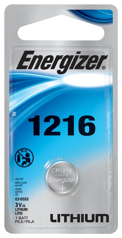 Energizer Battery ECR1216BP