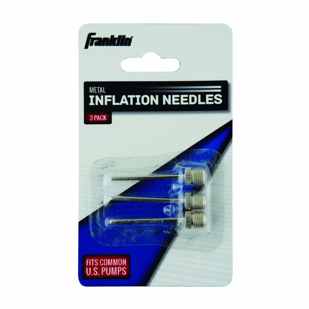 Franklin 3118 Metal Inflation Needles 3 Pack At Sutherlands Fitti Rainbow Regular S 12x12 12 Bags Some Stock Photographs May Show Options That Are Not Included Please Check Product Description