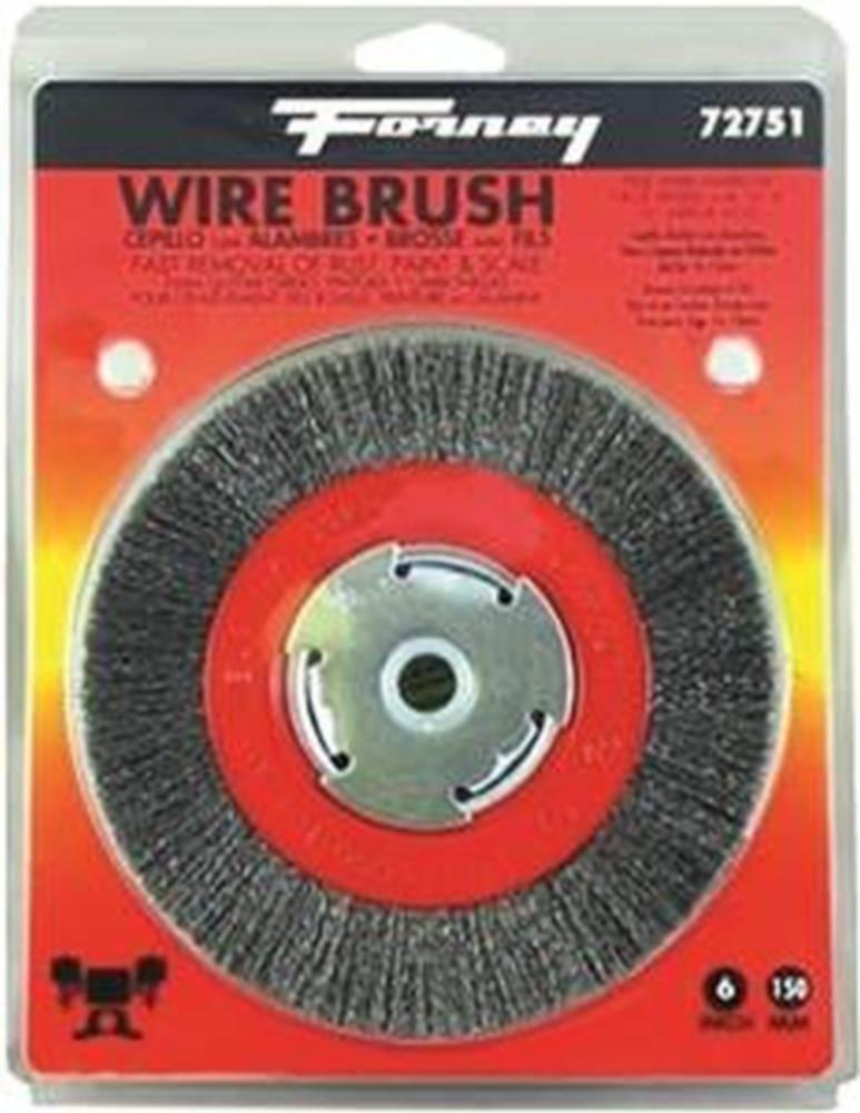 "Forney Wire Wheel Brush 4 /"" Twist Knot"