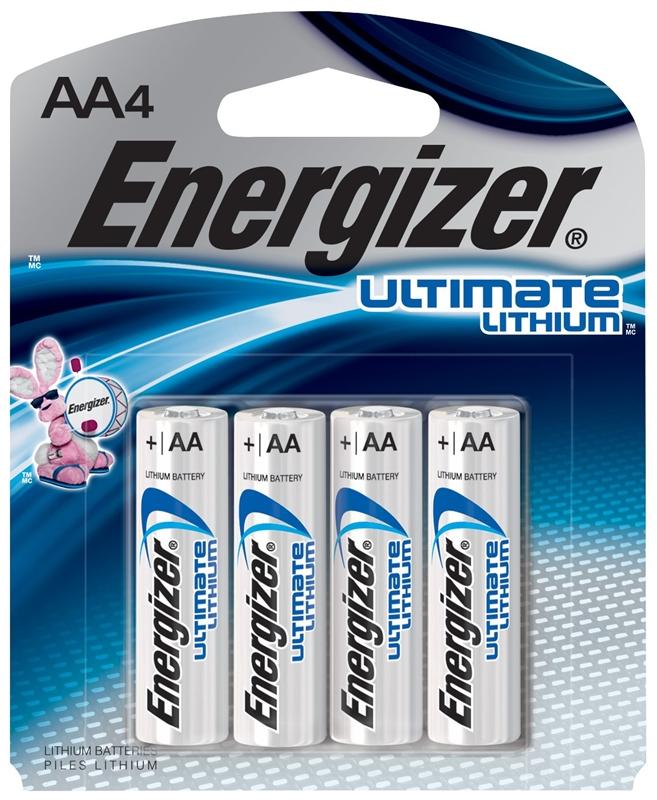 Energizer Battery L91SBP-4