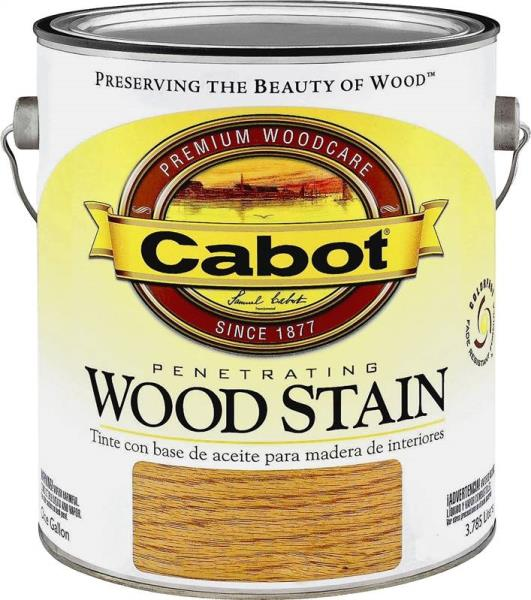 Cabot 8121 Gallon Golden Oak Penetrating Wood Stain At