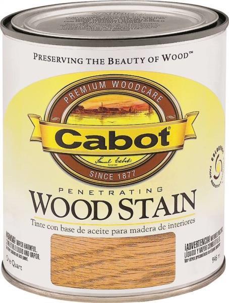 Cabot 8121 Quart Golden Oak Penetrating Wood Stain At