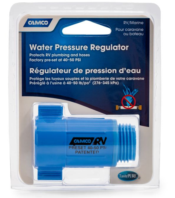 Camco 40143 Plastic Rv Water Pressure Regulator At Sutherlands
