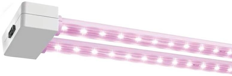 Feit Electric 74303 Red Spectrum Dual 2 Ft Led Grow Light
