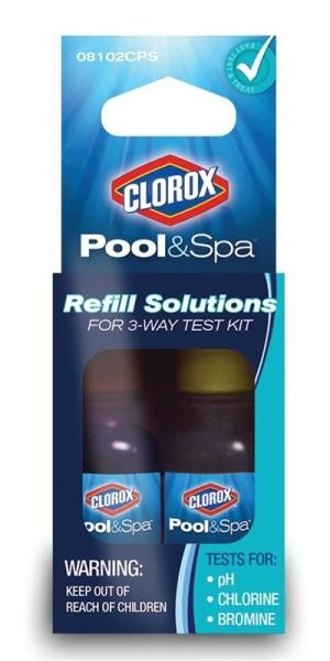 Clorox Pool & Spa Refill Solutions For 3-Way Test Kit