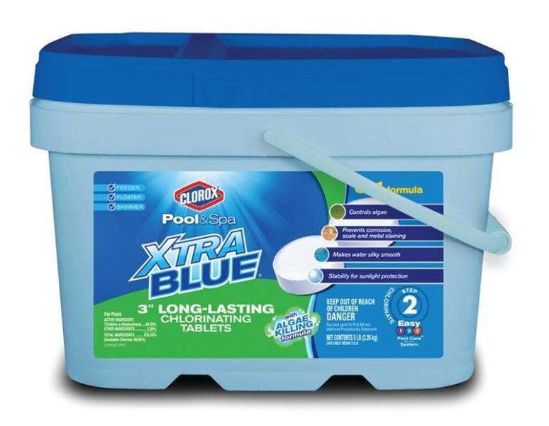 Biolab 23005clx 5 Lb Blue Clorox Pool And Spa Xtra