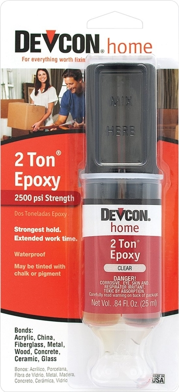 Devcon Home S31 0 84-Fl  Oz  Clear 2-Ton Epoxy at Sutherlands