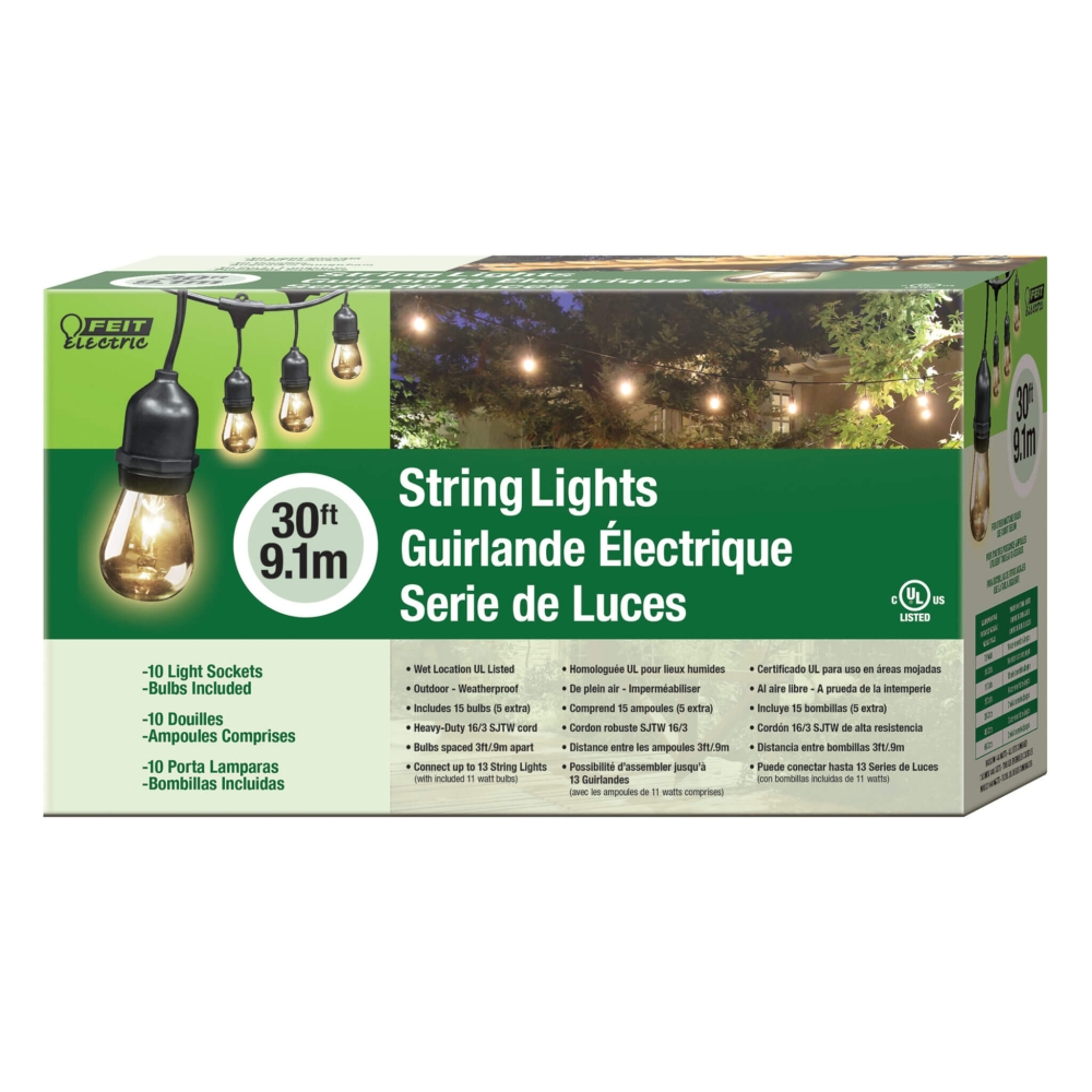 Feit Outdoor String Lights Not Working: Feit Electric 72041 30-Foot String Lights At Sutherlands