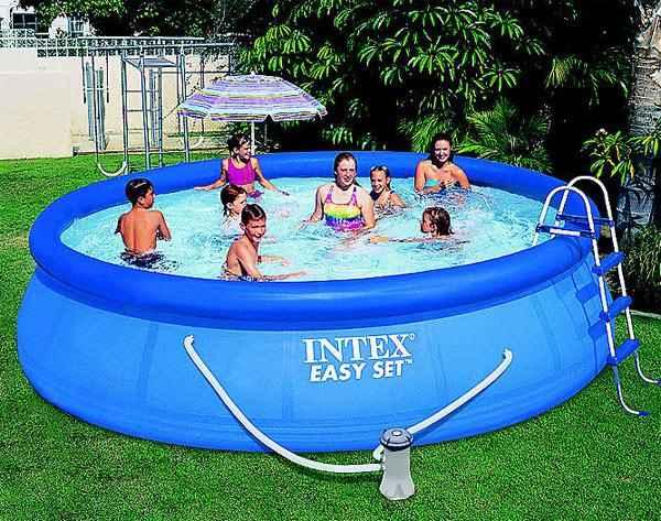 15-Foot X 42-Inch Easy Set Swimming Pool