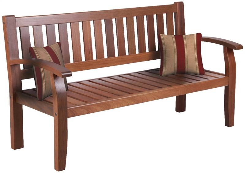 Seasonal Trends 5227293 Acacia Wood Park Bench At Sutherlands