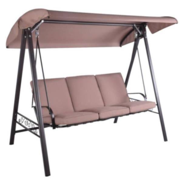 Wichita Furniture Lawton Ok: Seasonal Trends MS130005 3-Person Swing Cushion Chair At