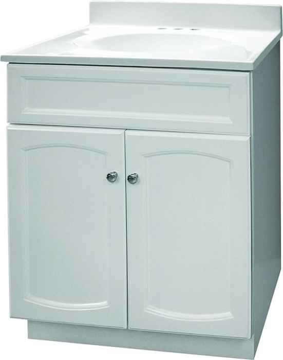 Foremost Groups Hew2418 24x18 White Heartland Vanity Combo At Sutherlands