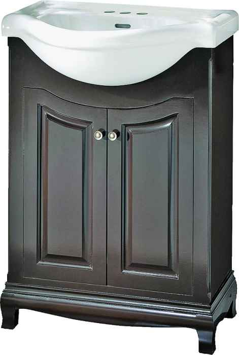 Foremost Groups Paea2534 25x34 Palermo Vanity And Top Combo Espresso At Sutherlands