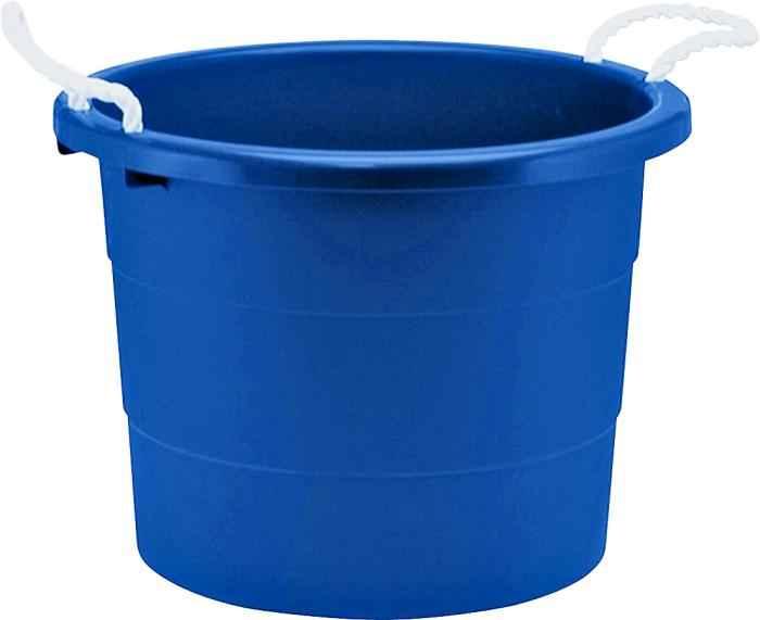 united solutions tu0014 20 gal blue utility tub muck bucket at sutherlands. Black Bedroom Furniture Sets. Home Design Ideas