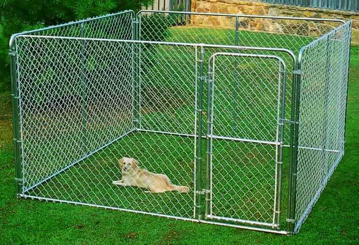 Stephens Pipe Amp Steel Dks11010 10x10x6 Ft Dog Kennel At