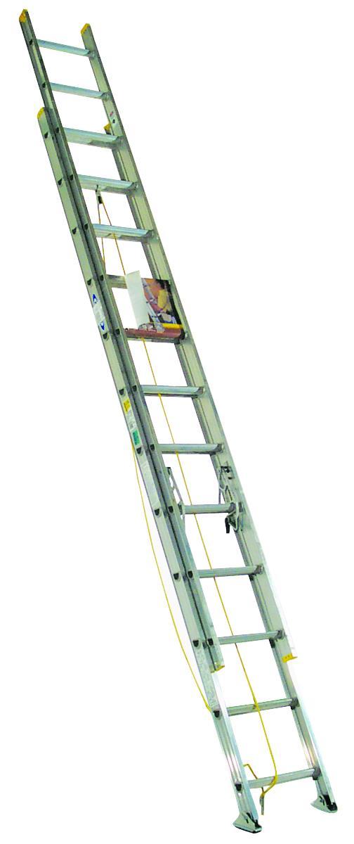 Werner Co D1224 2 24 Ft Aluminum Extension Ladder Type2 At