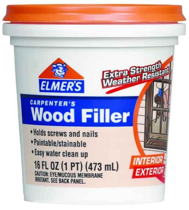 Elmer 39 S Products E849d8 Pint Carpenters Interior Exterior Wood Filler At Sutherlands