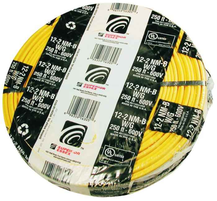 Southwire 12/2NM-WGX250