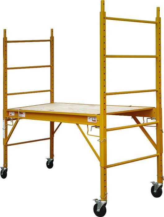 Heavy Duty Scaffolding : Mintcraft yh sd heavy duty portable scaffold at sutherlands