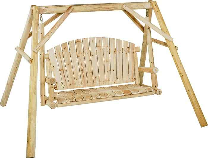 Worldwide sourcing nw 59n log swing and frame kit at for Sutherlands deck kits