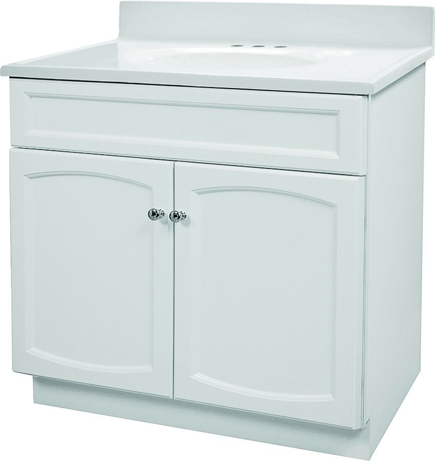 Foremost Groups 0284893 Vanity Combo White 30x18 At Sutherlands