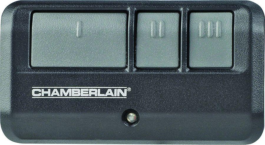 Chamberlain 953ev P2 3 Button Garage Door Remote At