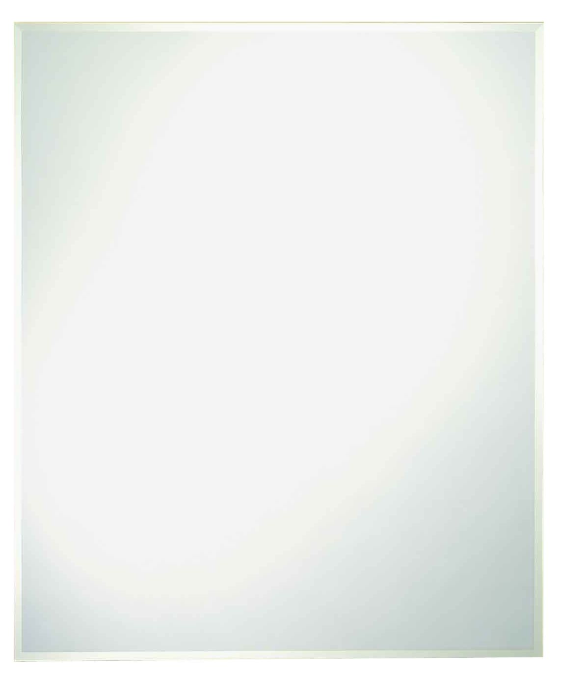 Home Decor Innovations 201240 30x36 Frameless Bevel Mirror