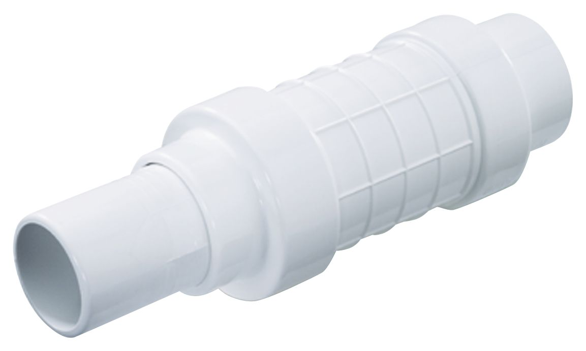 NDS QF-1250 1-1/4-Inch White PVC Expansion Pipe Repair