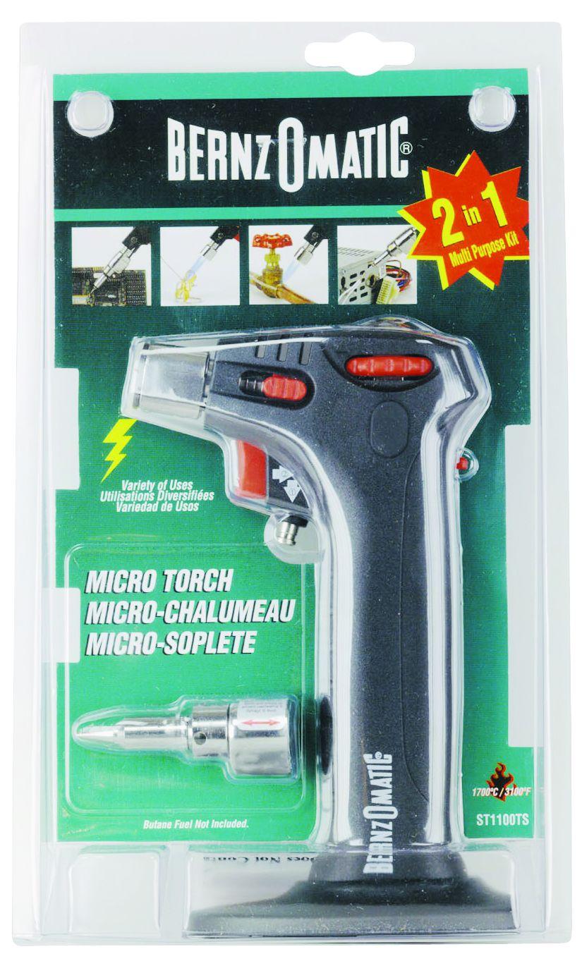 bernzomatic micro torch kit instructions