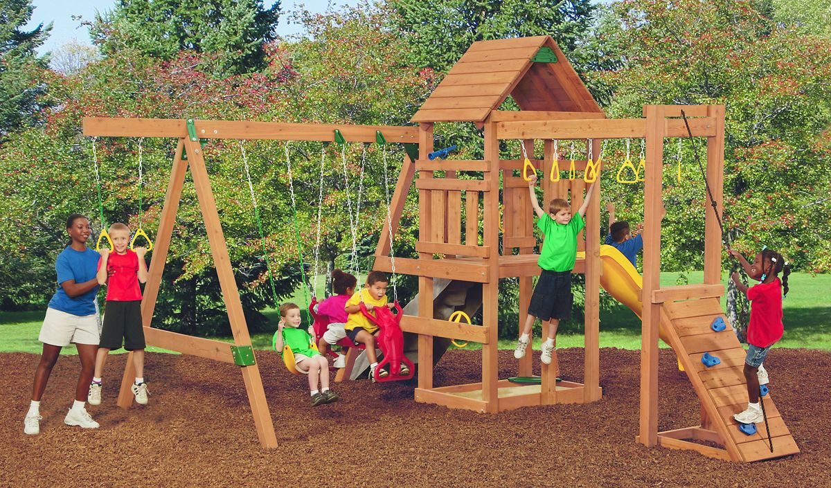 Playstar ps 7719 champion xp play set at sutherlands for Sutherlands deck kits