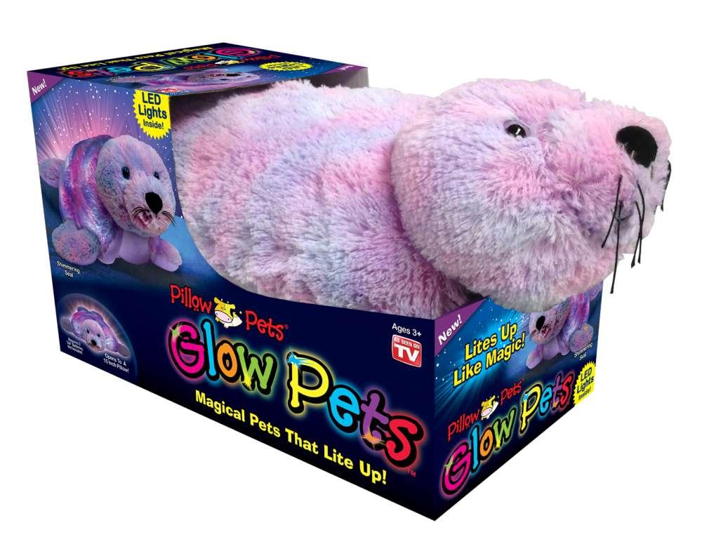 Seal Pillow Pet Glow Pets
