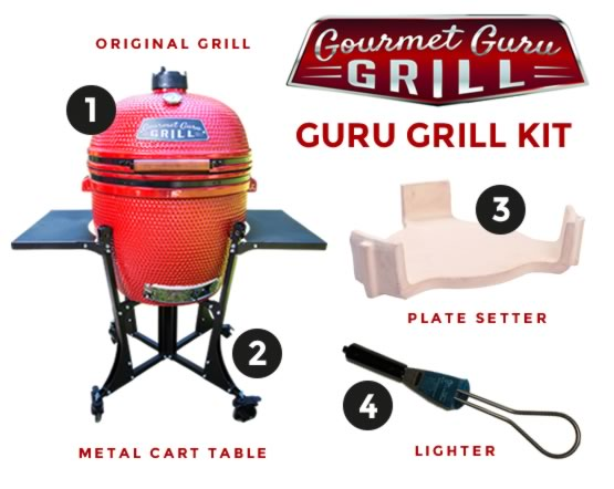Gourmet Guru GRILL 8010 KIT