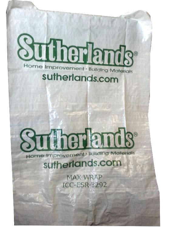 9-Foot X 100-Foot Sutherlands Water-Resistant House Wrap