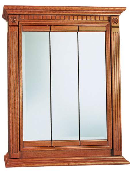 Lcl Raised Panel Door: Osage Cabinet KTV3030-B 30x30 Kingsgate Tri-View Medicine