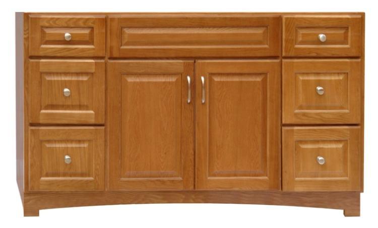Osage Cabinet Tv6021 D Timberline 60x21 6 Drawer Vanity At Sutherlands