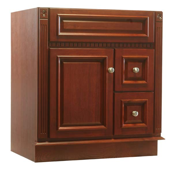 Osage Cabinet Rv3021 D C 30x21 Royal Cherry Vanity At Sutherlands
