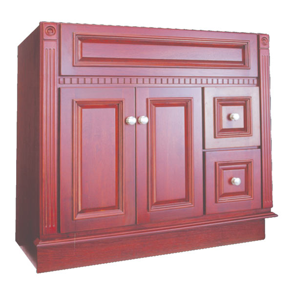 Cherry Royal Kitchen Cupboards: Osage Cabinet RV3621-D-C 36x21 Royal Cherry Vanity At