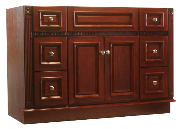 Osage Cabinet Rv4821 D C 48x21 Royal Cherry Vanity At Sutherlands