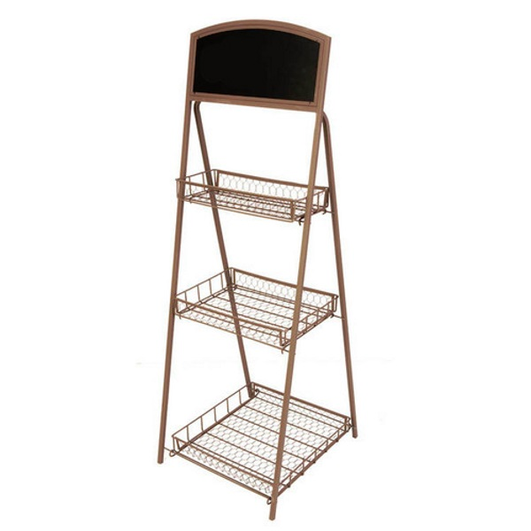 Panacea 83315 3 Tier Folding Chalkboard Plant Stand At