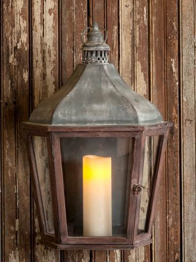 Park Hill Collections YF0930 French Style Wall Lantern at Sutherlands