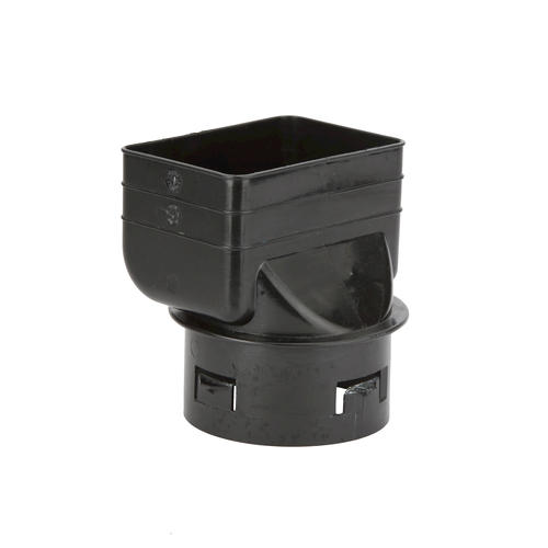 Prinsco Inc Ad443 4 X 4 X 3 Inch Downspout Adapter At